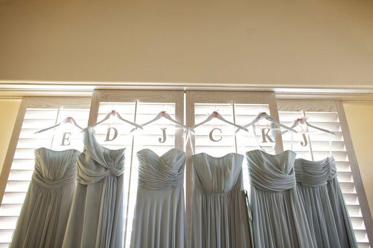 Gray After Six Bridesmaid Dresses