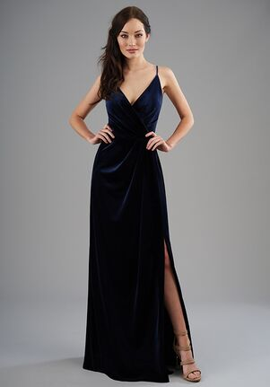 B2 Bridesmaids by Jasmine B203065 V-Neck Bridesmaid Dress