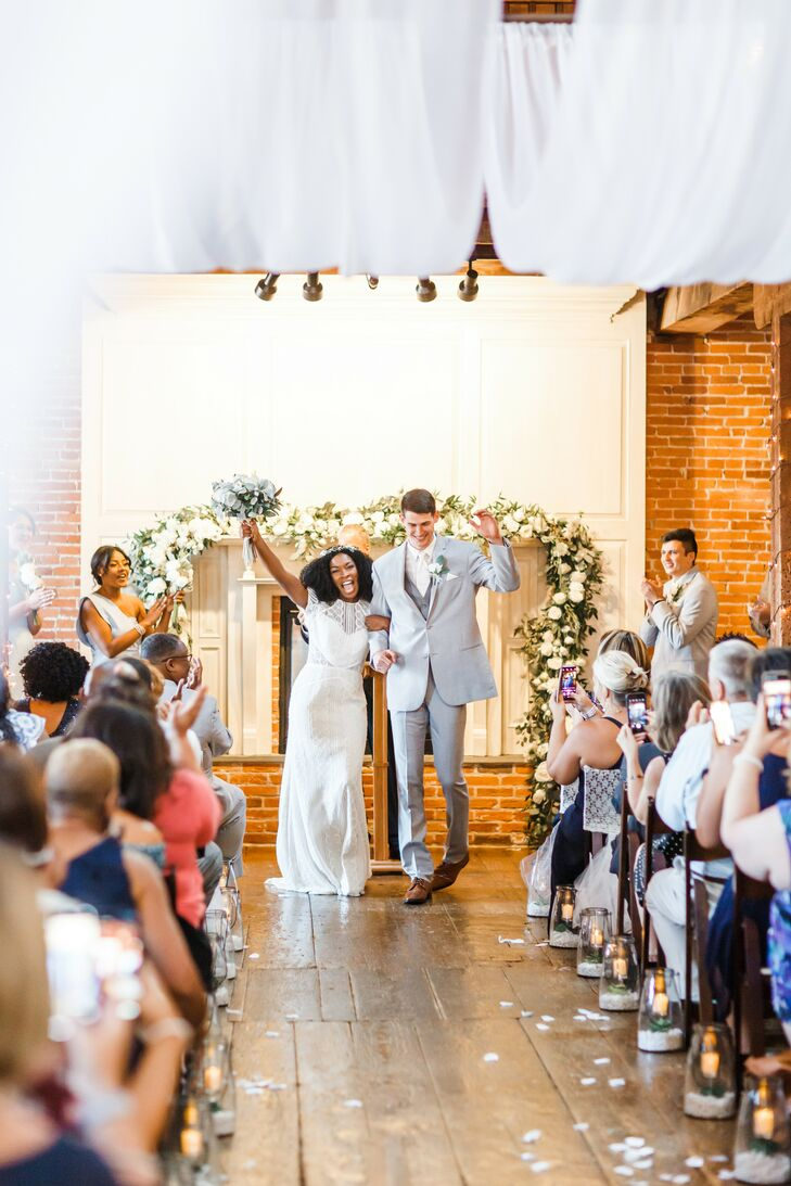 Wedding Ceremony at The Booking House in Manheim, Pennsylvania