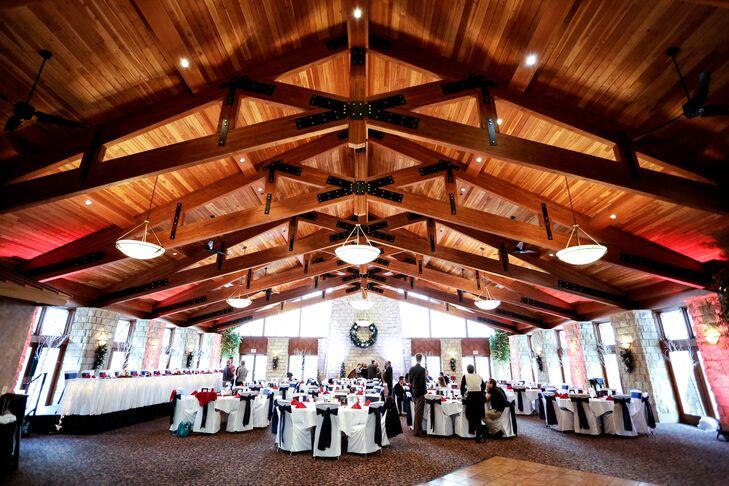 The Crown Room Winter Wedding Reception