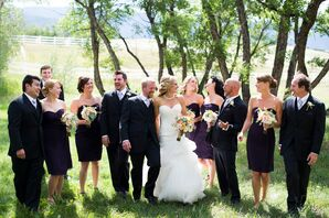 Purple Bridesmaid Dresses, Formal Black Tuxedos