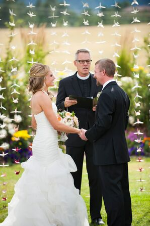 Erica and Jace Religious Outdoor Ceremony in Colorado