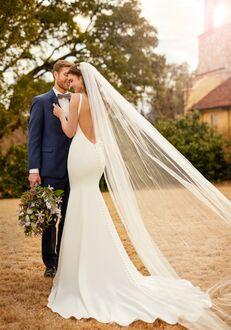 Essense of Australia D2378 Sheath Wedding Dress