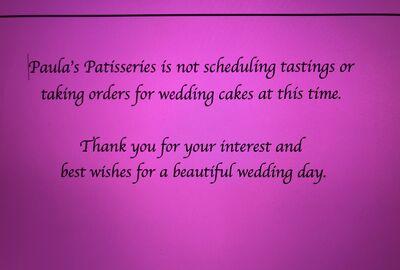 Paula's Custom Cakes & Patisseries