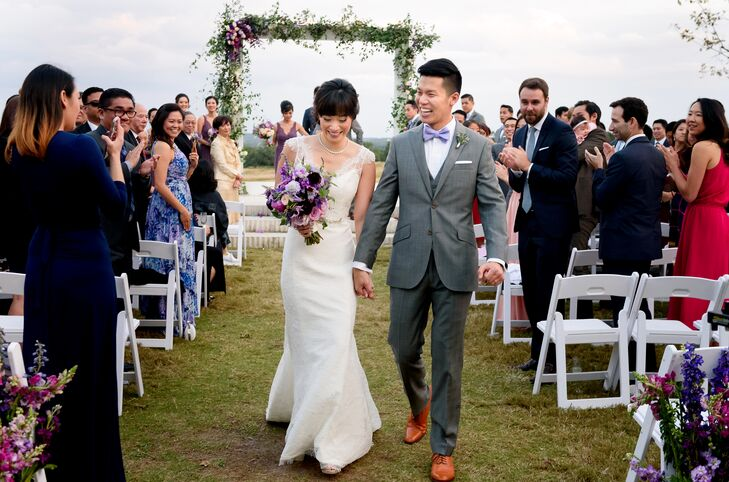 Traditional Recessional at Prospect House in Dripping Springs, Texas