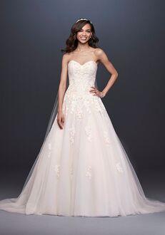 David's Bridal David's Bridal Style V3902 Ball Gown Wedding Dress