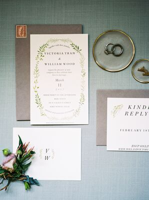Floral Flourish Invitations