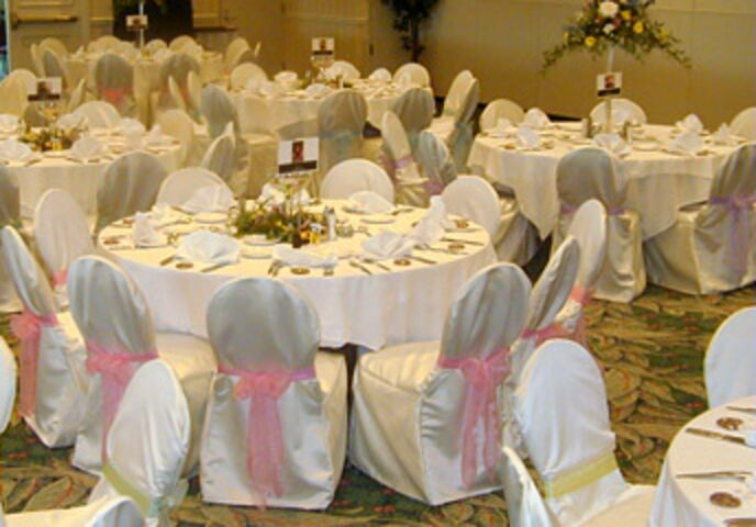 Satin Chair Covers By Robin