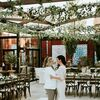 An Elegant Dinner Party Reception at Galleria Marchetti in Chicago, Illinois