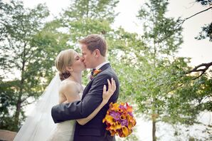 Newlywed Kiss