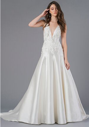 Jenny Yoo Collection Bardot Mermaid Wedding Dress