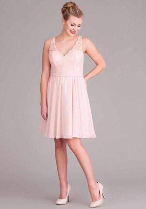 Kennedy Blue Peyton V-Neck Bridesmaid Dress