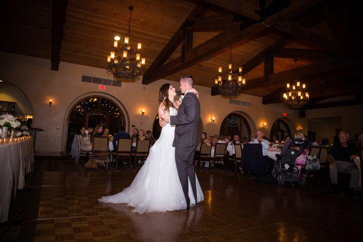 Long, Ivory Wedding Dress Train