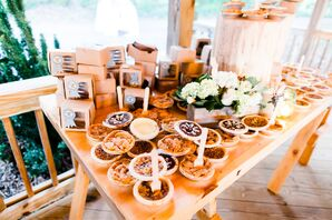Mini Pie Dessert Table