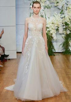4a86facc6b11b Monique Lhuillier Sage Ball Gown Wedding Dress
