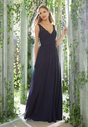 Morilee by Madeline Gardner Bridesmaids 21624 V-Neck Bridesmaid Dress