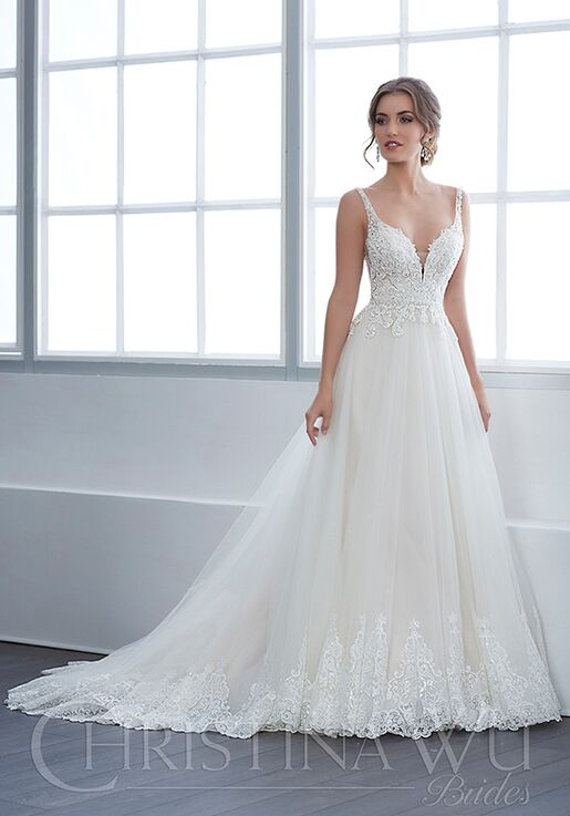 befbf1bbc8 Christina Wu 15651 Wedding Dress - The Knot