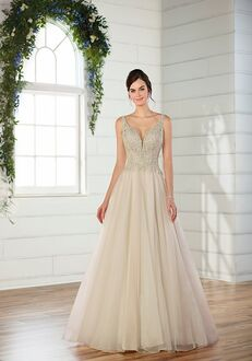 Essense of Australia D2471 Ball Gown Wedding Dress