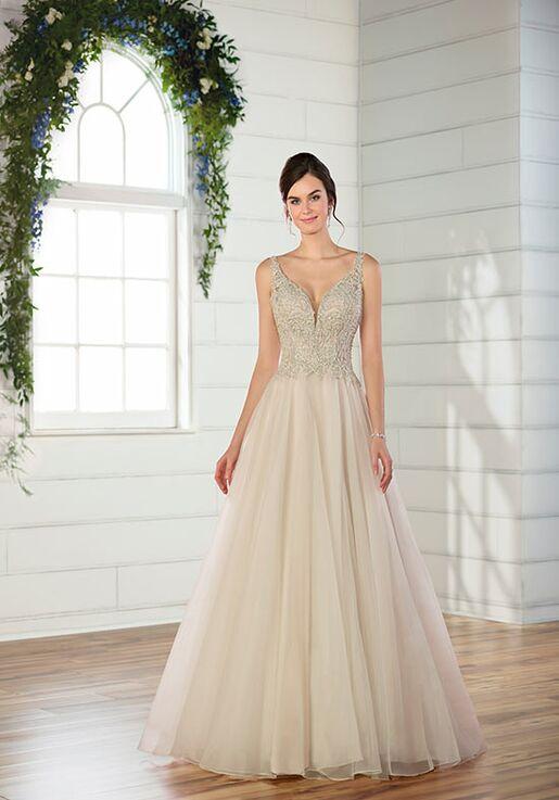 Essense of Australia D2471 Ball Gown Wedding Dress