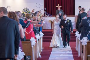 First Baptist Church Wedding Ceremony