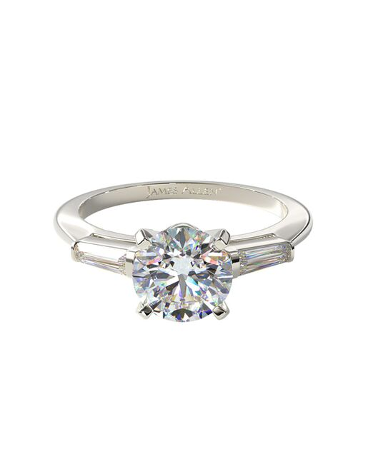 James Allen Classic Princess, Asscher, Cushion, Emerald, Heart, Marquise, Pear, Radiant, Round, Oval Cut Engagement Ring