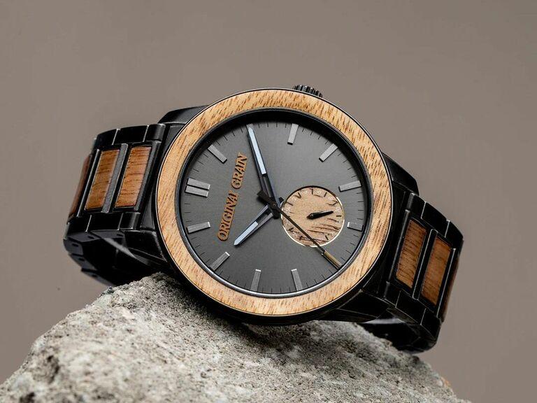 Original Grain watch gift for fiance