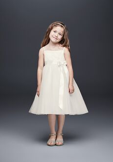 David's Bridal Flower Girl WG1370 Flower Girl Dress