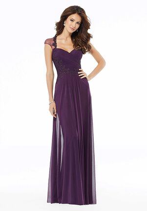 MGNY 72105 Blue Mother Of The Bride Dress