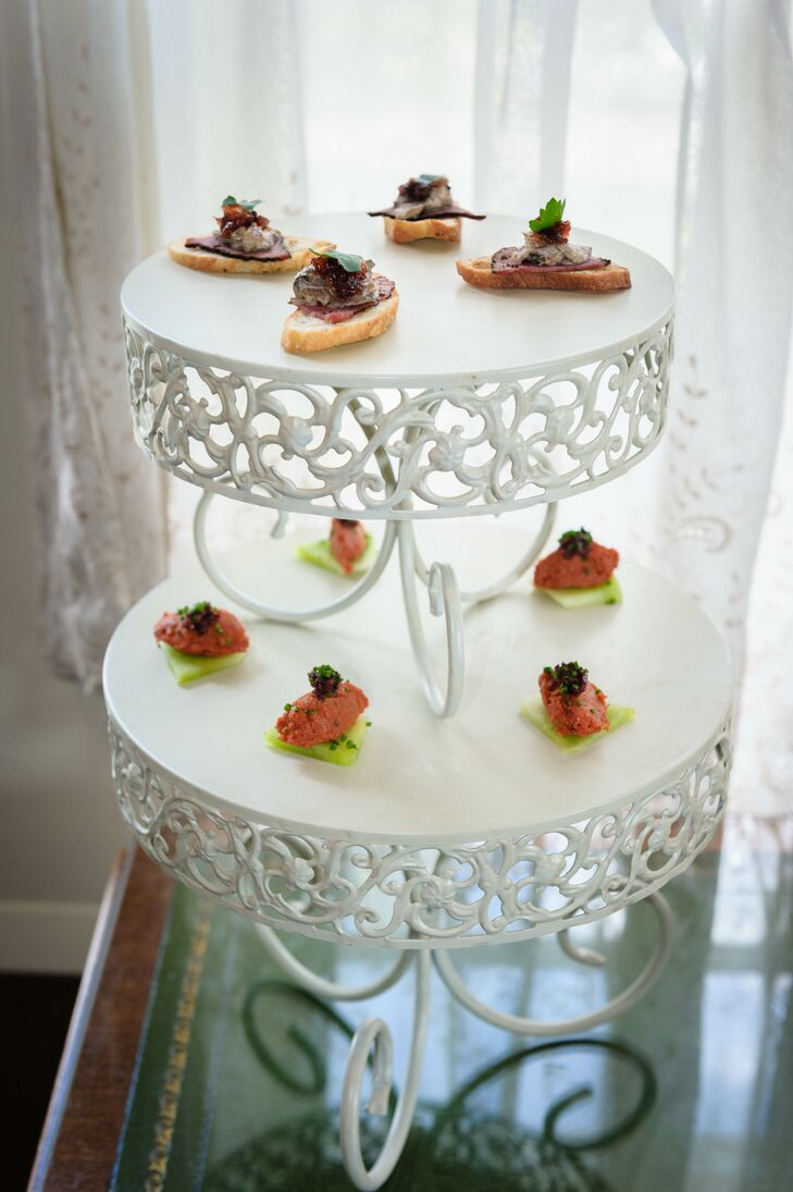 Victorian Inspired Wedding Appetizers