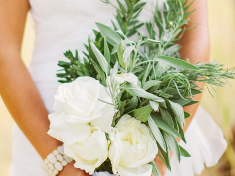15 Herb Bouquets from The Knot