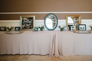 Mirror Signs and Photo Decorations