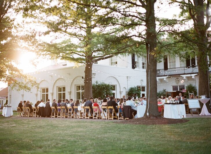 A St. Louis Country Club Outdoor Reception