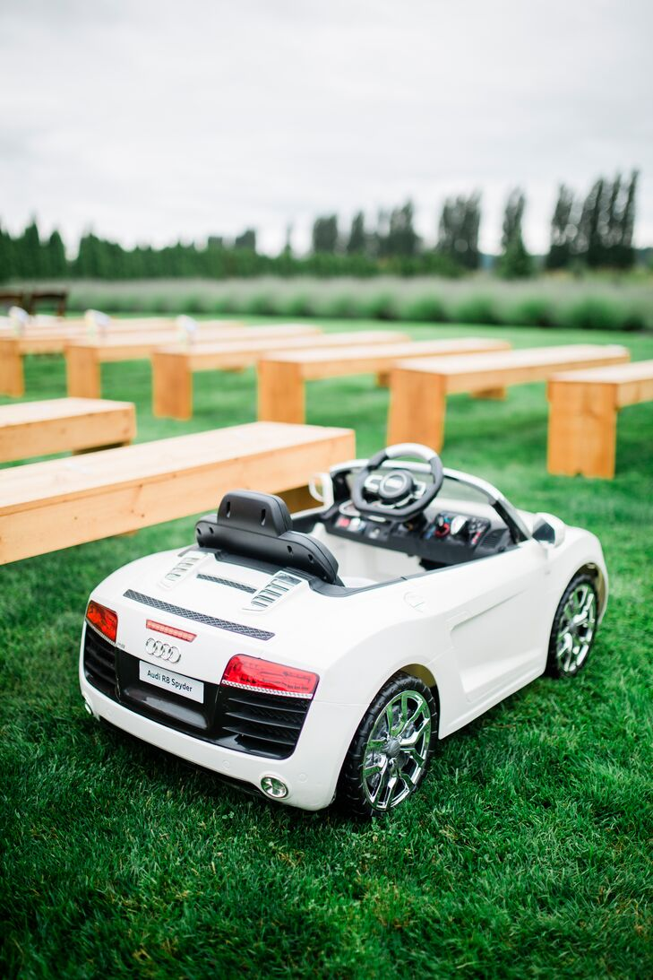 Remote-Controlled Ring Bearer Convertible