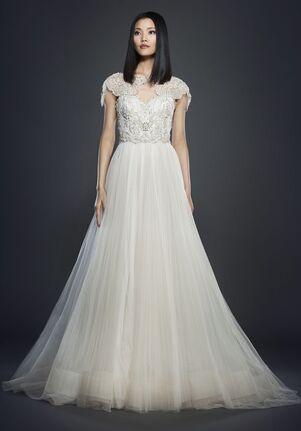 Lazaro 3706 Ball Gown Wedding Dress