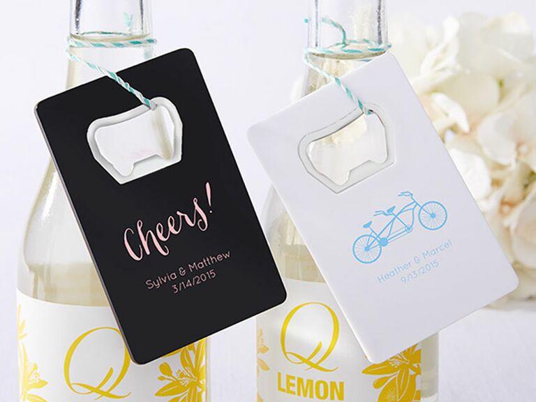 personalized wedding bottle opener