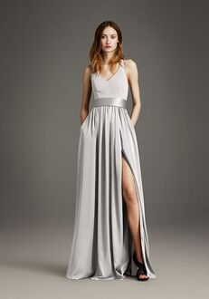 White by Vera Wang Collection White by Vera Wang Style VW360214 V-Neck Bridesmaid Dress