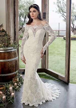 Casablanca Bridal 2428 Reese Mermaid Wedding Dress
