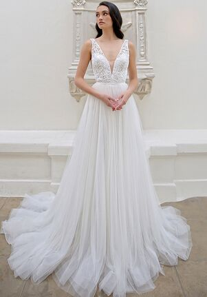 Blue by Enzoani Myelle A-Line Wedding Dress
