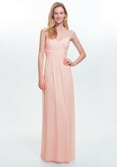 #LEVKOFF 7020 V-Neck Bridesmaid Dress