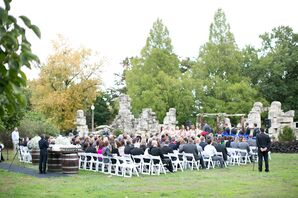 Piper Palm House Ruins Wedding Ceremony