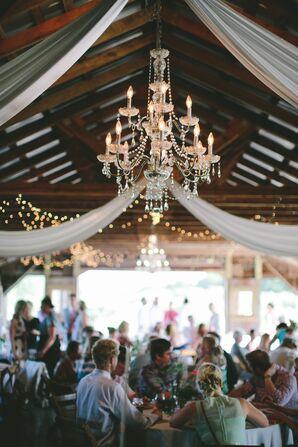 Weston Red Barn Farm Wedding Reception