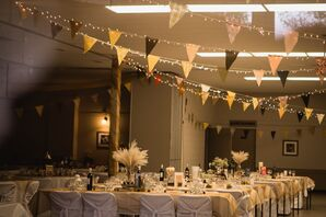 Bunting Flag Reception Decor
