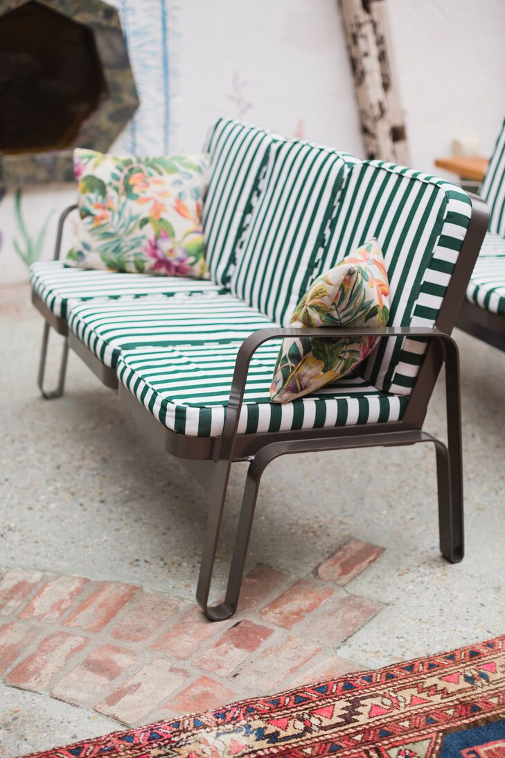 Cool Tropical Lounge Furniture With Stripes Bralicious Painted Fabric Chair Ideas Braliciousco