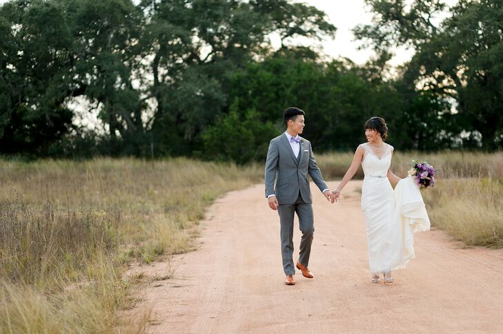 Amy Loh (30 and a marketing professional) and Kent Chao (32 and a business operations professional) live on both coasts and travel often, so finding t