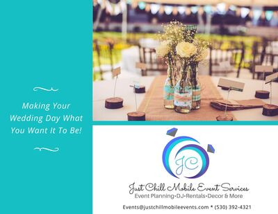Just Chill Mobile Event Services.