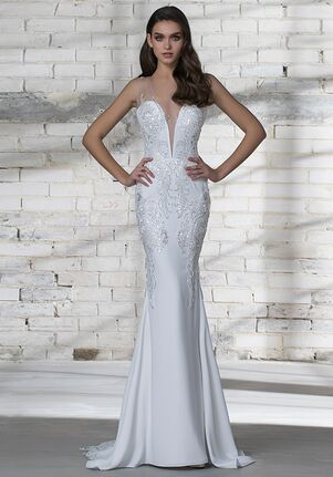 LOVE by Pnina Tornai for Kleinfeld 14688 Sheath Wedding Dress