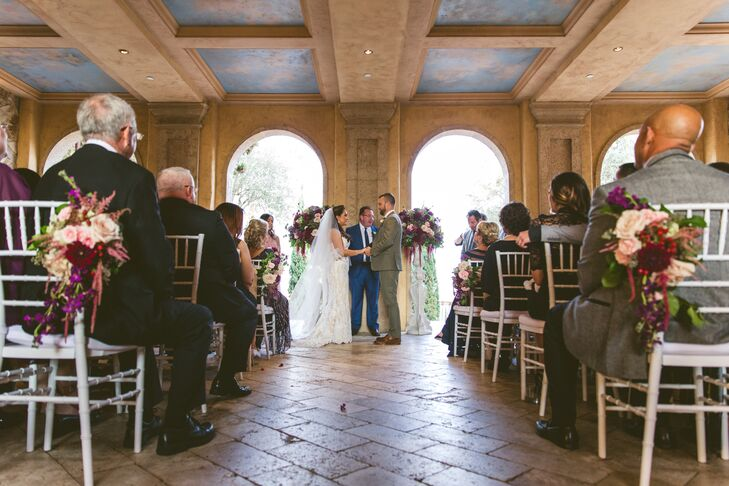 Tuscan-Inspired Bella Collina Ceremony