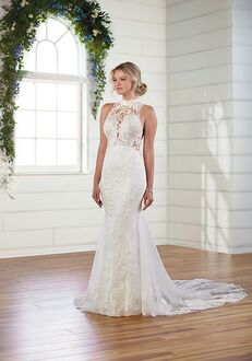 Essense of Australia D3009 A-Line Wedding Dress
