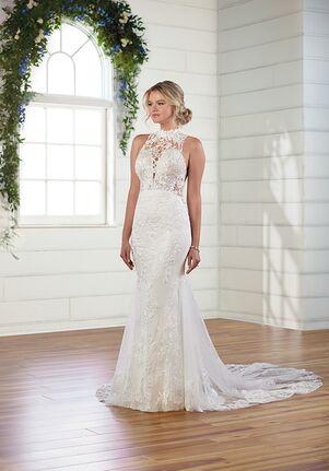 Essense of Australia D3009 A-Line Wedding Dress