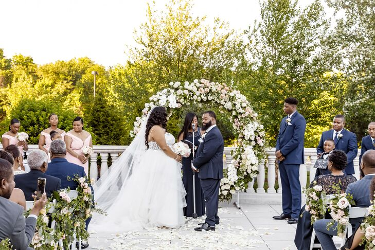 Wedding Ceremony at The Palace at Somerset in Somerset, New Jersey